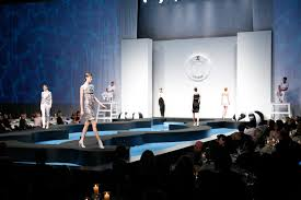 Chanel Replicates Miami Fashion Show With Lifeguard Towers Runway Surrounded By Water