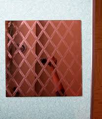 Mirror Tiles 12x12 Gold by Mirror Tiles From The 1970s 12 Designs Retro Renovation