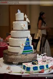 Vancouver Canucks Hockey Wedding Cake So Kool