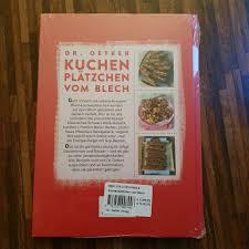 dr oetker backbuch kuchen plätzchen vom blech