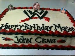 Wwe Wrestling Room Decor by Wwe Cake Tommy Cakes Pinterest Wwe Cake Cake And Birthdays