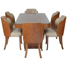 Epstein Burr Maple Dining Set