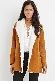 Faux Shearling-Trim Genuine Suede Coat | FASHION THRASHIN ... Womens Brown Shearling Sheepskin Duffle Coat Daria Uk Lj Coach Jacket In Green For Men Lyst Taylor Stitch Blanket Lined Barn Jacket Huckberry Consume Urban Outfitters Uo Faux Barn And Wool Shop Jackets Peter Millar Cortina Leather Fur Fashion 2017 Weatherproof Fauxshearling For Women Save 50 237 Best Sheepskins I Love Images On Pinterest Bogoli Lamb Amazoncom Mountain Khakis Mens Ranch Sports