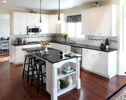 White Kitchen Cabinets With Dark Grey Walls Modern Kitchens Full