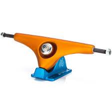 100 Gull Wing Trucks Wing Charger Longboard OrangeBlue