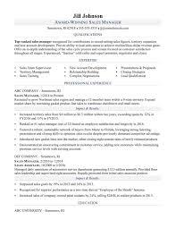 Manager Sample Resume Sales Executive Bank Monstercomrhmonstercom Shift Examples Rhcom