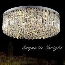 moderne k9 kristall led deckenleuchte luxus einfache rund led chip innen licht wohnzimmer restaurant schlafzimmer le leuchte