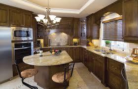 deco cuisine marron cuisine decoration deco classique