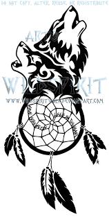 Wolven Dreamcatcher Tattoo By WildSpiritWolf