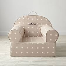 Pottery Barn My First Anywhere Chair Insert by Personalized Grey X Print Kids Executive Nod Chair The Land Of Nod