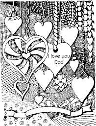 Adult Colouring Hearts Love Zenta Awesome Coloring Pages For Adults