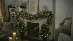Qvc Christmas Tree Storage Bag by Bethlehem Lights 3 U0027 Mixed Greens Prelit Holiday Swag Page 1