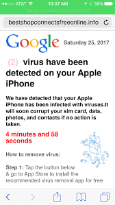 Is this a real virus warning Google Product Forums