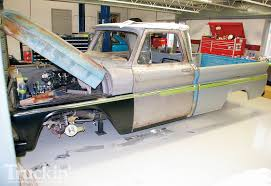 1965 Chevy C10 Buildup - Custom Chevy Truck - Truckin' Magazine 01966 Chevy Truck Door Weatherstrip Installation Youtube 68 C10 Engine Compartment 6066 Parts 6772 1964 Fullsize Frontend Lights Car Viperguy12 1939 Chevrolet Panel Van Specs Photos Modification Info Restored Updated Installed Ac By Air Quip Inc 1962 Pickup Wiring Diagram Example Electrical How To Add Power Brakes Cheap Chevrolet Truck C20 C30 1 2 Short Wheel Base 1965 1966 Best Image Of Vrimageco Pick Up Basic