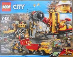 Lego City Mining Experts Site Set 60188 New In Sealed Box ...