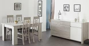 esszimmer luena 7 portofino grau weiß hochglanz esstisch 4x