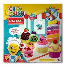 crea dough cake shop knete kinderknete set kuchen
