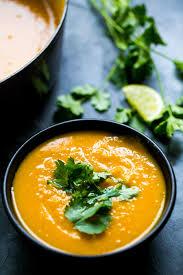 Spicy Pumpkin Butternut Squash Soup by Roasted Kabocha Squash Soup Recipe Simplyrecipes Com