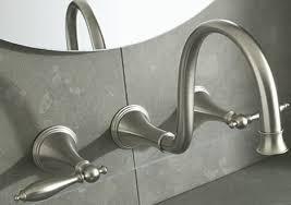 kohler finial traditional wall mount bath faucet wall mounted