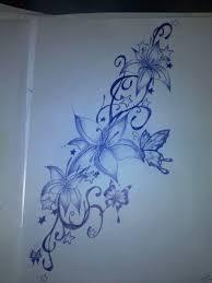 Tattoo Design Flowers Butterflies By BibiOnXTC On DeviantArt 1024x1365