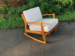 Handmade Reproduction Selig Mid Century Modern Rocking Chair ... Modern Baby Girl Nursery Ideas Solid Wood Rocking Chair Cherry Slab Seat Sewing Rocker Or And 50 Similar Items Pin By Cannons Online Auctions Llc On Cherry Wood Amish Bentwood Rocking Chair Augustinathetfordco Windsor Mfg Harden Stickley Mission Catalog At Sheffield Fniture Interiors Wooden Rocker Rinomaza Design Childrens Thebookaholicco Wooden Chairs New