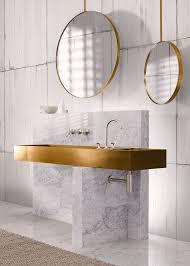 badezimmer aus marmor und gold badezimmer interiordesign