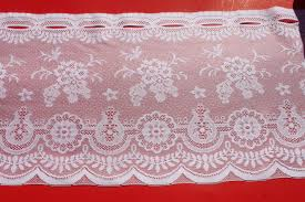 Curtain Fabric By The Yard by Lace Cafe Curtains By The Yard Home Design And Decoration