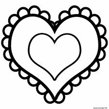 Coloriage Coeur Saint Valentin 15 Dessin