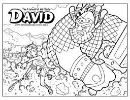 Bible Story Coloring Pages To Encourage In Picture And Heroes Of The
