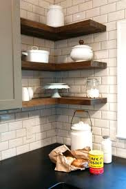 Rustic Wall Mounted Shelves Floating Medium Size Of White