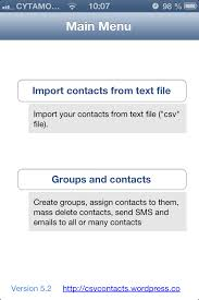 How to manage contact groups and send broadcast SMS or e mails