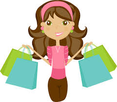 Kids Shopping Clipart Free