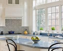 Light Blue Subway Tile by 100 Penny Tile Kitchen Backsplash Penny Tile Backsplash