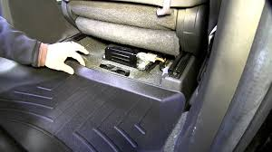 review of the weathertech rear floor liner on a 2009 nissan xterra