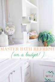 Beautiful Master Bathroom Refresh (On A Budget!) » We're The Joneses 10 Easy Design Touches For Your Master Bathroom Freshecom Cheap Decorating Ideas Pictures Decor For Magnificent Photos Half Images Bathroom Rustic Country Cottage 1900 Design Master Jscott Interiors Double Sink Bath 36 With Marble Style Possible 30 And Designs Bathrooms Designhrco Garden Tub Wall Decor Rhcom Luxury Cstruction Tile Trends Modern Small