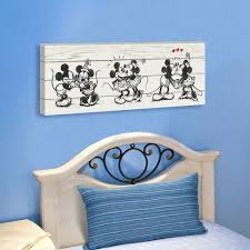 Disney Canvas Wall Art Beautiful Design Collection Ideas For Your Sweet Kids Room Usa Merchandise Mickey Mouse Paintings Prints 30 Cm 90