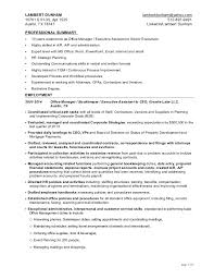 Executive Assistant Resume Samples VisualCV Database Free Sample Cover