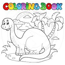 Picture Dinosaur Coloring Book