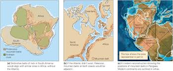 Evidence For Seafloor Spreading Comes From by Wegener U0027s Evidence For Continental Drift Learning Geology
