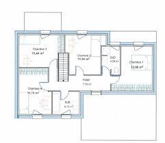plan maison 4 chambres etage plan maison cube a etage de cubique choosewellco 1 scarr co