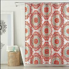 John Frusciante Curtains Zip by Coral Colored Shower Curtain Ideas Curtain Ideas