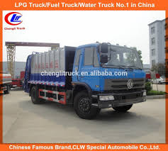 Dongfeng Garbage Compactor Truck 10cbm Mini Waste Collector Trucks ...