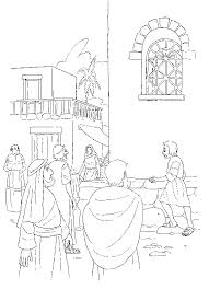 Animated Coloring Pages Bible Story Image 0117
