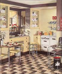 1930 Retro Chrome Kitchen Of Wonderful Design Sets And Ideas From Designs