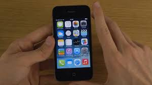 iPhone 4 New iOS 7 Final Public First Look & Setup