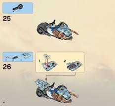 100 Fangpyre Truck Ambush LEGO Instructions 9445 Ninjago Jajana