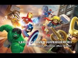 lego marvel super heroes soundtrack that sinking feeling boss