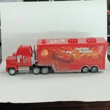 Jual Mainan Cars MACK Si Truck McQueen KW 95 - Raiya Toy | Tokopedia Jual Mainan Mobil Rc Mack Truck Cars Besar Diskon Di Lapak Disney Carbon Racers Launcher Lightning Mcqueen And Transporter Playset Original Pixar Cars2 Toys Turbo Toy Video Review Heavy Cstruction Videos Mattel Dkv55 Protagonists Deluxe Amazoncouk Red Tayo Amazoncom Disneypixar Hauler Carrying Case 15 Charactertheme Toyworld Story Set Radiator Springs Pictures
