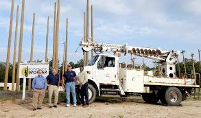 SEC Donates Truck To Power Line Worker School - News - The Progress ...
