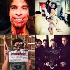 Halloween Iii Season Of The Witch Cast by The Vampire Diaries Cast Gets Bloody In These Season 6 Set